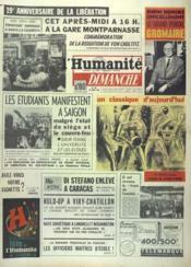 Humanite Dimanche (L') N°783 du 25/08/1963 - Couverture - Format classique