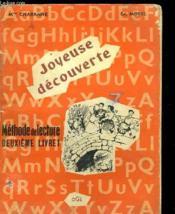 Joyeuse Decouverte - Methode De Lecture Deuxieme Livret - Couverture - Format classique