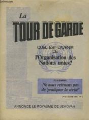 LA TOUR DE GARDE ANNONCE LE ROYAUME DE JEHOVAH n°1 - Couverture - Format classique