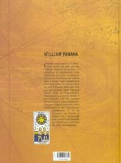 William Panama t.2 ; l'instant du crocodile - 4ème de couverture - Format classique