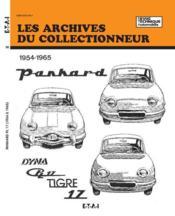 Panhard Dyna Z - Pl 17 Et Tigre 17 (54/65) N 18 - Couverture - Format classique