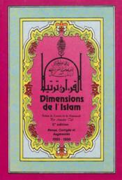 Dimensions De L'Islam - Couverture - Format classique