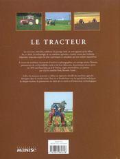 Tracteur (Le) - 4ème de couverture - Format classique