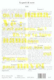 Revue Action Poetique N.182 ; John Cage, Lucebert, Saül Yurkievich - 4ème de couverture - Format classique