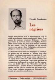 Negriers (Les) - 4ème de couverture - Format classique