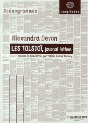 Les tolstoï, journal intime - Intérieur - Format classique