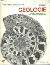 Travaux Diriges De Geologie - Couverture - Format classique