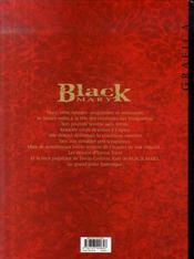 Black mary t.3 ; guignols - 4ème de couverture - Format classique