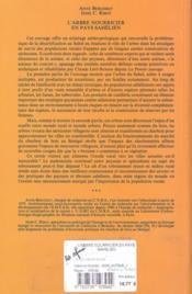 L'arbre nourricier en pays sahélien - 4ème de couverture - Format classique