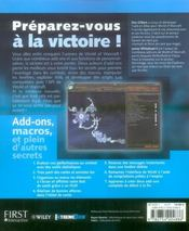 Secrets de world of warcraft - 4ème de couverture - Format classique