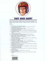 Tout buck danny t.8 ; pilotes de prototypes - 4ème de couverture - Format classique