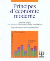 Principes D'Economie Moderne - Intérieur - Format classique