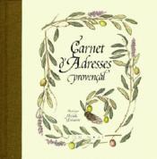 Carnet Adresses Provencal Michele Delsaute - Couverture - Format classique