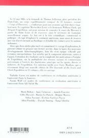THE LEWIS AND CLARK EXPEDITION (édition 2005/2006) - 4ème de couverture - Format classique