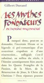 Mythes Fondateurs De La Franc-Maconnerie (Les) - Intérieur - Format classique