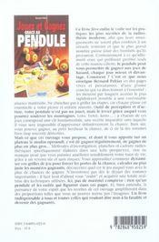 Jouez Et Gagner Grace Au Pendule - 4ème de couverture - Format classique