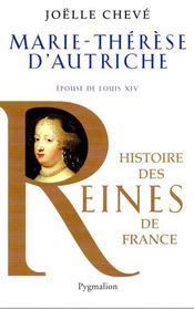 Marie-Thérèse d'Autriche ; épouse de Louis XIV - Intérieur - Format classique