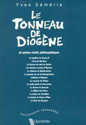 Le tonneau de diogene et autres recits philosophiques - Intérieur - Format classique
