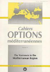 The varroosis in the mediterranean region ; cahiers options mediterraneennes t.2 - Couverture - Format classique