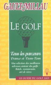 Guide Gault Millau Golf - Intérieur - Format classique