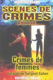 Crimes De Femmes N.7 - Intérieur - Format classique