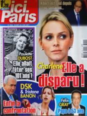 Ici Paris N°3456 du 28/09/2011 - Couverture - Format classique