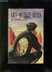 Les Quinze Rues. - Couverture - Format classique