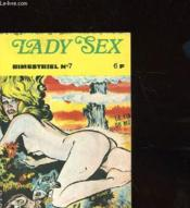 Lady Sex Bimestriel N°7 - Couverture - Format classique