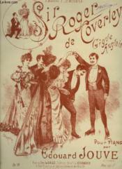 Sir Roger De Coverley : Gigue Anglaise + Gigue Originale - Piano. - Couverture - Format classique