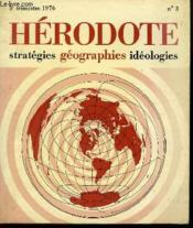 Herodote Strategies Geographies Ideologies - Couverture - Format classique