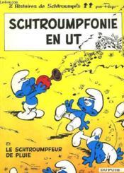 Schtroumpfonie En Ut Et Les Schtroumpfeur De Pluie - Couverture - Format classique