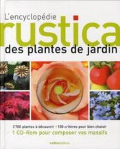 La grande encyclopédie des plantations - Couverture - Format classique