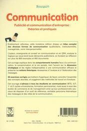 Communication 3 Edt - Synergies - 4ème de couverture - Format classique