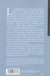 Étienne marcel - 4ème de couverture - Format classique