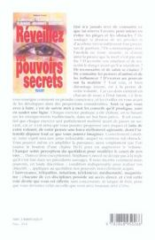 Reveillez vos pouvoirs secrets - 4ème de couverture - Format classique