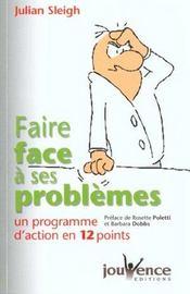 Faire Face A Ses Problemes N.1 - Intérieur - Format classique