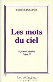 Mots Du Ciel - Mysteres Reveles - T.2 - Couverture - Format classique