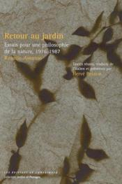 Retour Au Jardin - Couverture - Format classique
