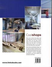 Cool shops - 4ème de couverture - Format classique
