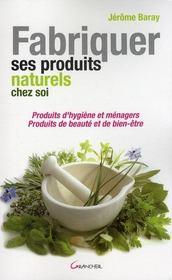 M decines naturelles et parall les belgique loisirs - Fabriquer ses produits d entretien ecologiques ...
