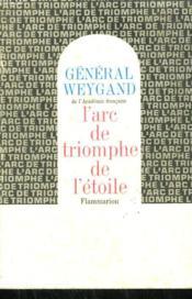 L'Arc De Triomphe De L'Etoile. - Couverture - Format classique