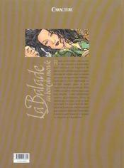 Balade au bout du monde t.14; pierres invoquées - 4ème de couverture - Format classique