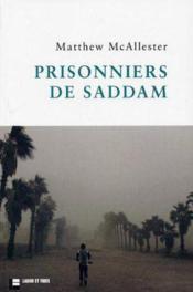 Prisonniers de Saddam - Couverture - Format classique