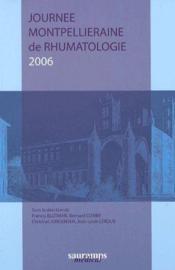 Journée montpellieraine de rhumatologie 2006 - Couverture - Format classique