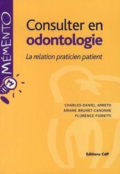 Consulter en odontologie - Intérieur - Format classique