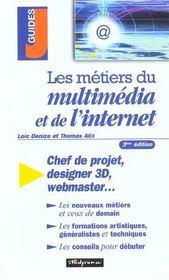 Les metiers du multimedia et de l'internet - Intérieur - Format classique