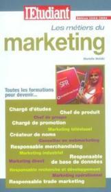 Les métiers du marketing - Couverture - Format classique