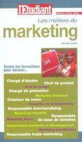 Les métiers du marketing - Intérieur - Format classique