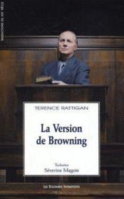 La Version De Browning - Couverture - Format classique
