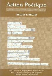 Revue Action Poetique N.185 ; Belges Et Belges - Intérieur - Format classique